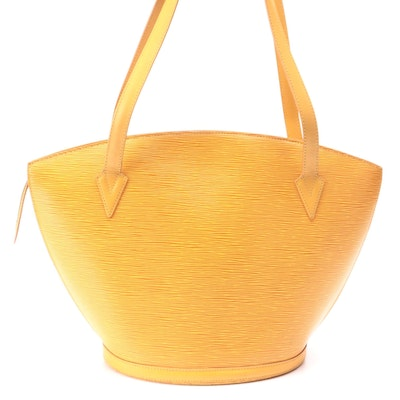 Louis Vuitton St. Jacques GM Bag in Tassil Yellow Epi Leather
