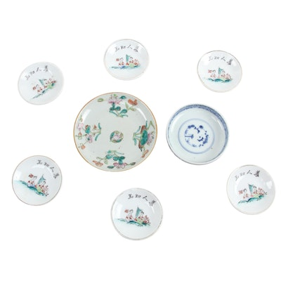 Chinese Famille Rose and Other East Asian Tableware