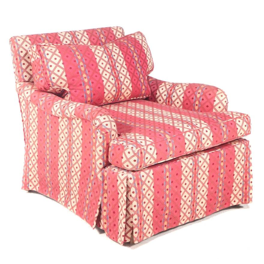 Custom-Upholstered Easy Armchair