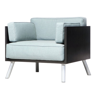 """Peter Stamberg & Paul Aferiat for Knoll Studio """"Salsa"""" Lounge Chair"""