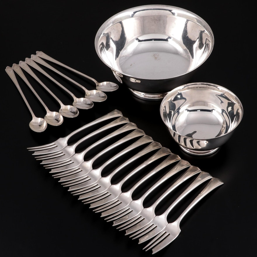 Gorham and F.B. Rogers Silver Co. Silver Plate Revere Style Bowls and More