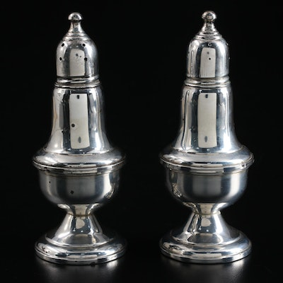 Empire Weighted Sterling Silver Shakers