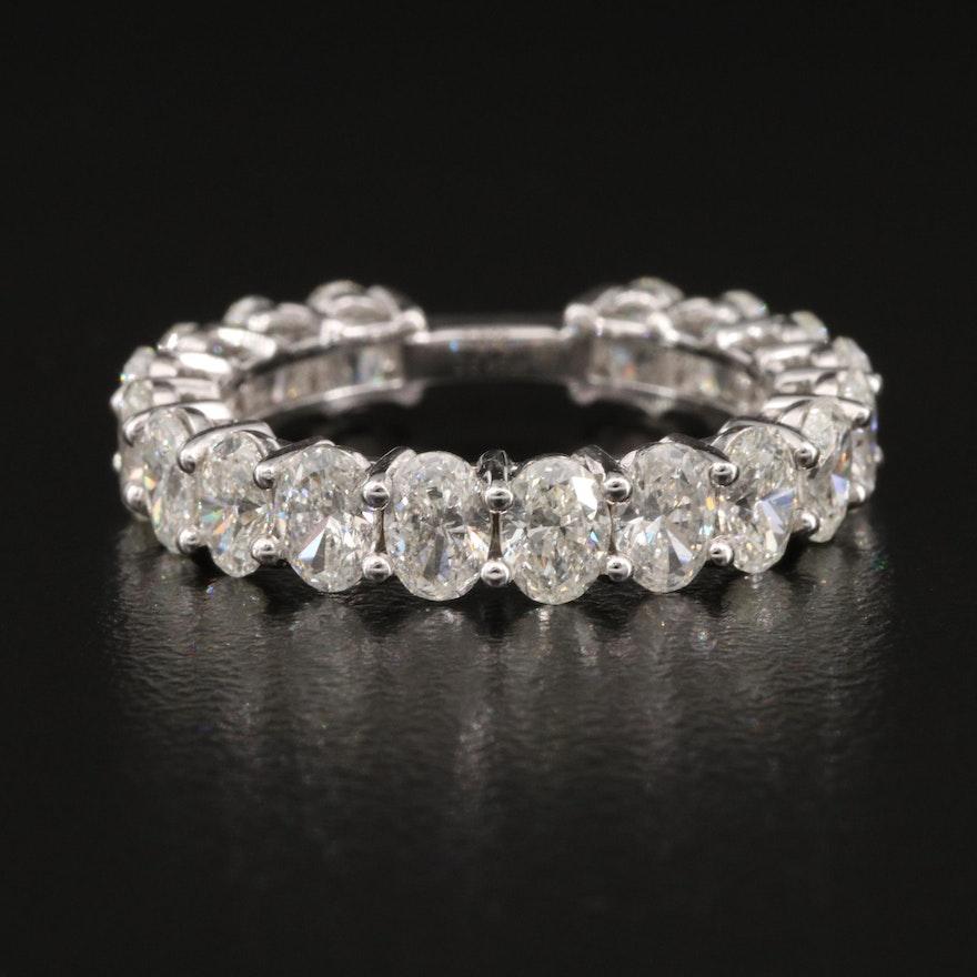 18K 3.46 CTW Diamond Band