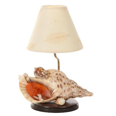 Seashell Art  Table Lamp
