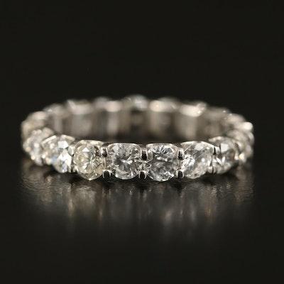 Platinum 3.15 CTW Diamond Eternity Band