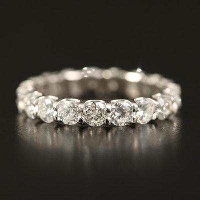Platinum 2.68 CTW Diamond Eternity Band