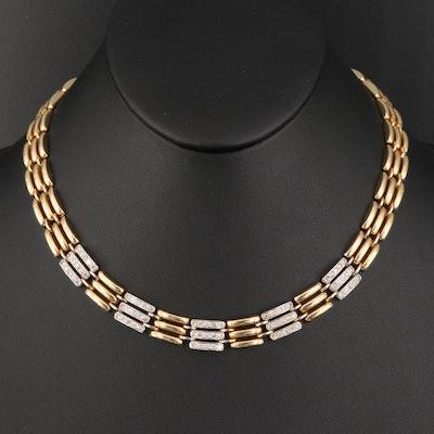 Italian 14K 2.06 CTW Diamond Necklace