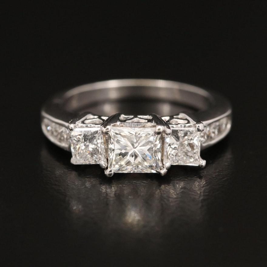 14K 1.63 CTW Diamond Ring