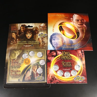 """""""The Lord of the Rings"""" Commemorative Rounds and New Zealand Coin Set"""