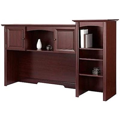 "Realspace ""Broadstreet"" Hutch for U-Shaped Desk in Cherry"
