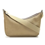 Gucci Light Olive Green Canvas and Brown Leather Crossbody