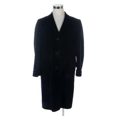 Men's Weber & Heilbroner Stein Bloch Cashmere Overcoat