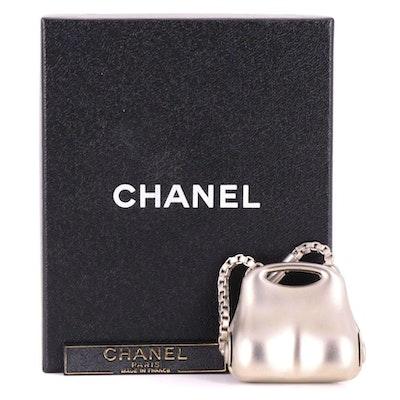 Chanel Millenium Metal Bag Charm