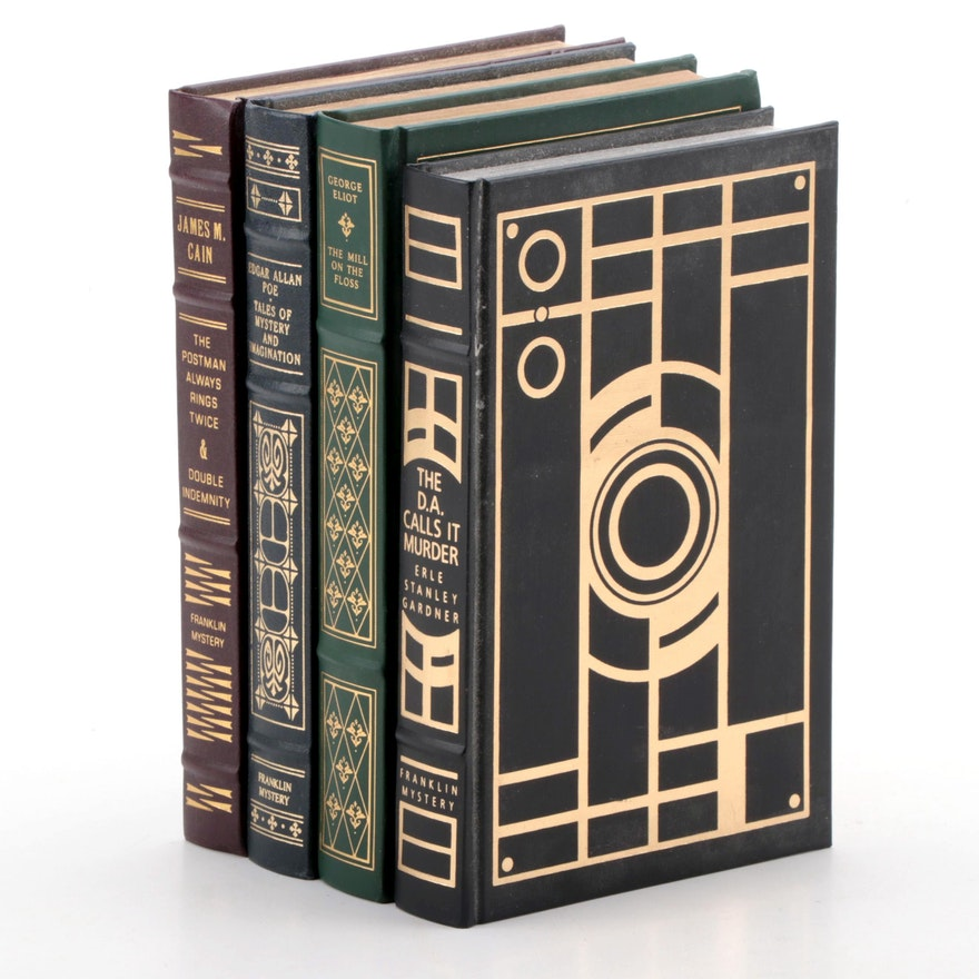 Franklin Library Mysteries by Edgar Allan Poe, James M. Cain, and More