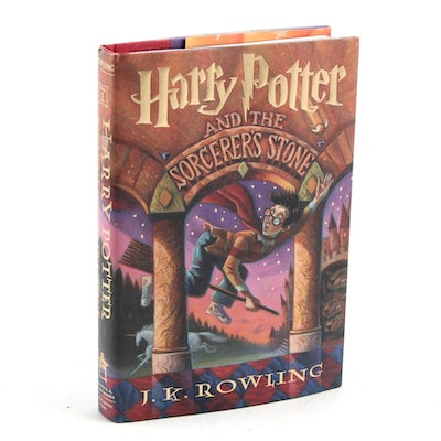 """First American Edition """"Harry Potter and the Sorcerer's Stone"""" by J. K. Rowling"""