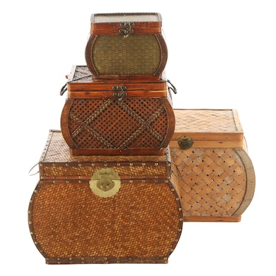 Bombay Company and Other Storage Baskets