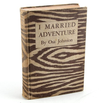 "Sixth Impression ""I Married Adventure"" by Osa Johnson, 1940"