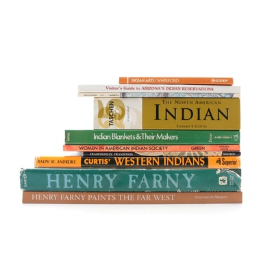Books of the Art of Henry Farny, Native American Art, and Western History