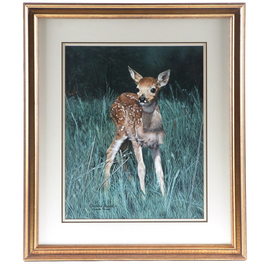 """Charles Fracé Offset Lithograph """"New Arrival"""""""