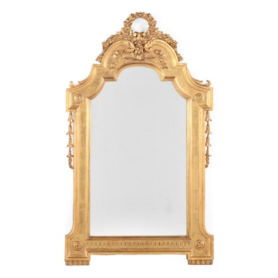 Karges Furniture George II Style Giltwood & Composition Mirror, Mid-20th Century