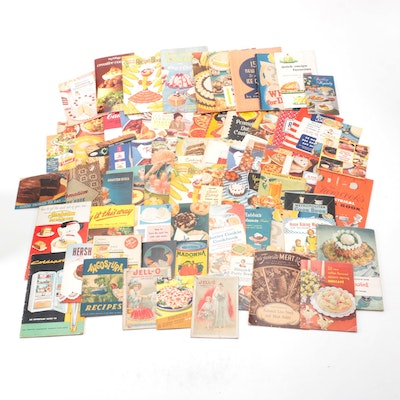 """""""Chiquita Banana's Recipe Book"""" and More Cooking Pamphlets, 20th Century"""
