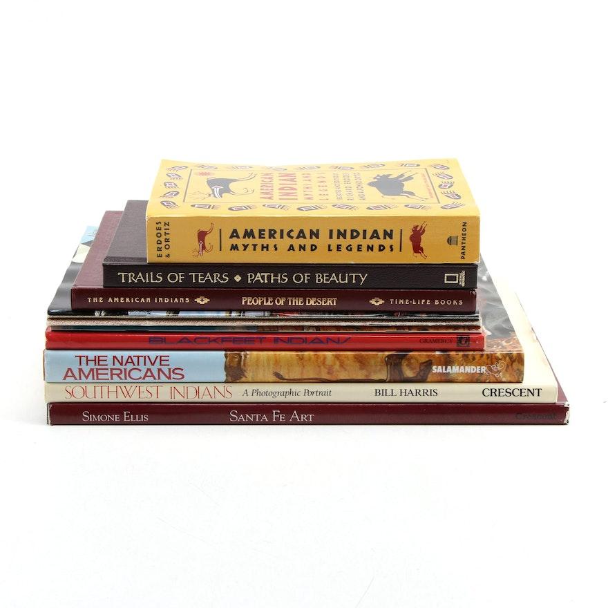 """Santa Fe Art"" by Simone Ellis and More Native American Art and History Books"