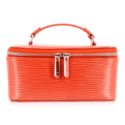 Louis Vuitton Jewel Case in Coquelicot Epi Leather