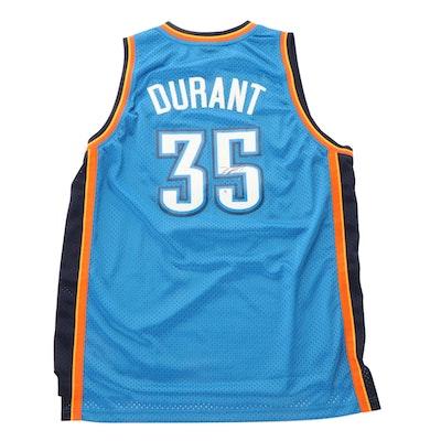 Kevin Durant Signed Oklahoma City NBA Adidas Basketball Jersey, Global COA