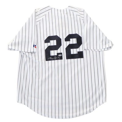 Roger Clemens Signed New York Yankees Russell Baseball Jersey, PSA/DNA