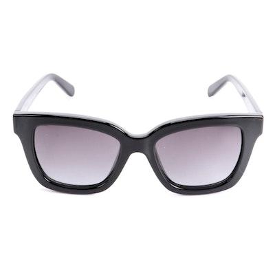 Salvatore Ferragamo SF955S Black Sunglasses with Case and Box