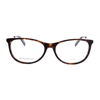 Givenchy GV 0129 Dark Havana Eyeglasses with Case
