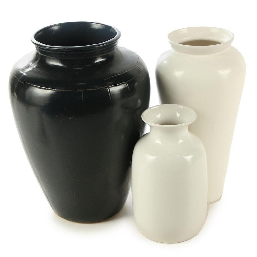 Royal Haeger Pottery Ceramic Floor Vases