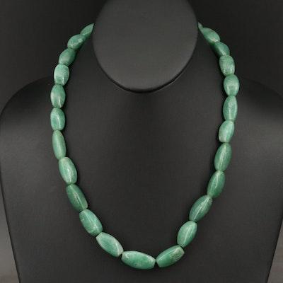 Green Aventurine Bead Necklace