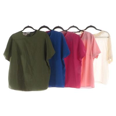 Christie & Jill, Liz Baker, Lauren Lee and Other Short Sleeve Blouses