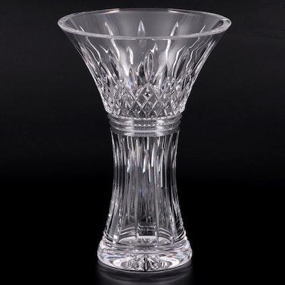 "Waterford ""Lismore"" Flared Crystal Vase"