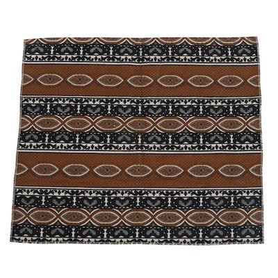 Machine Woven Cotton Decorative Textile Panel