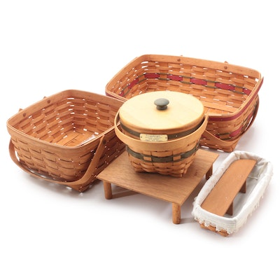 Longaberger Christmas Collection Jingle Bell, Market and Other Baskets