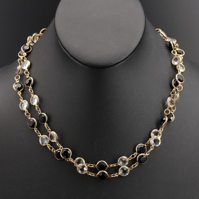 Glass Link Endless Necklace