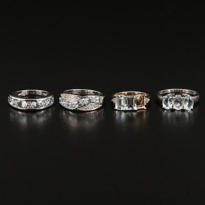 9K and Sterling Gemstone Rings