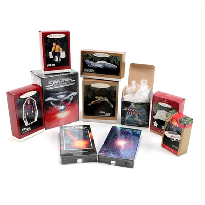 """Star Trek"" Memorabilia Collection, Including VHS Movies, Ornaments, More"