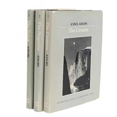 """First Edition, First Printing """"The New Ansel Adams Photography Series"""""""