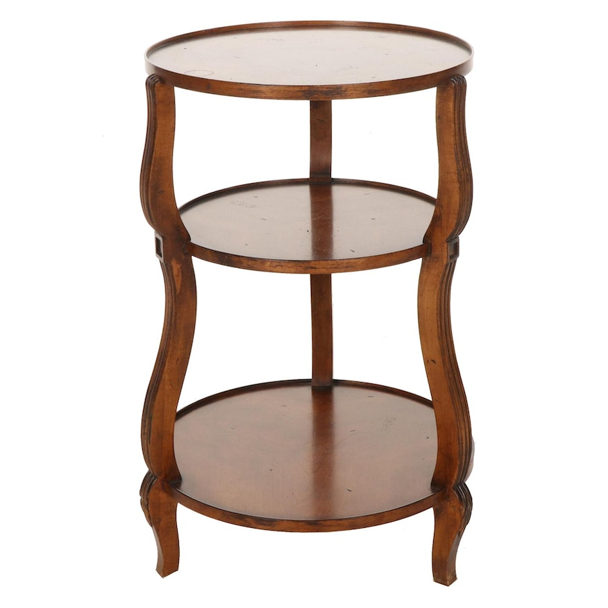 The Hickory Chair Company Three-Tiered Accent Table