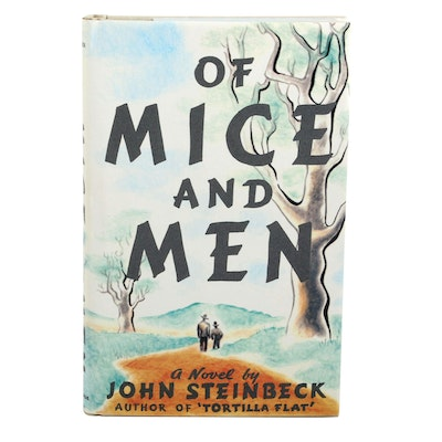 """Facsimile First Edition """"Of Mine and Men"""" by John Steinbeck"""