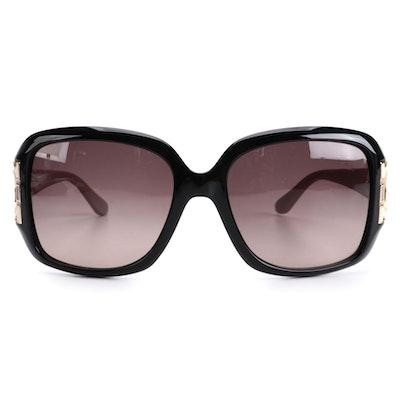 Salvatore Ferragamo SF666S Oversized Sunglasses with Case and Box