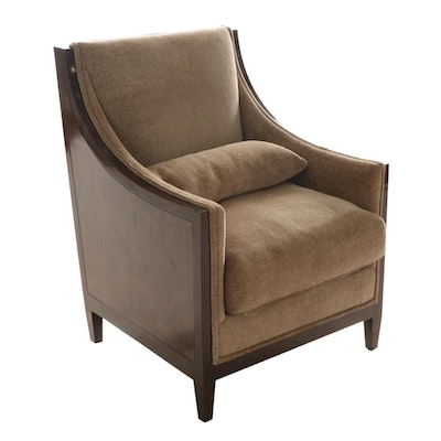 Directoire Style Upholstered Bergère