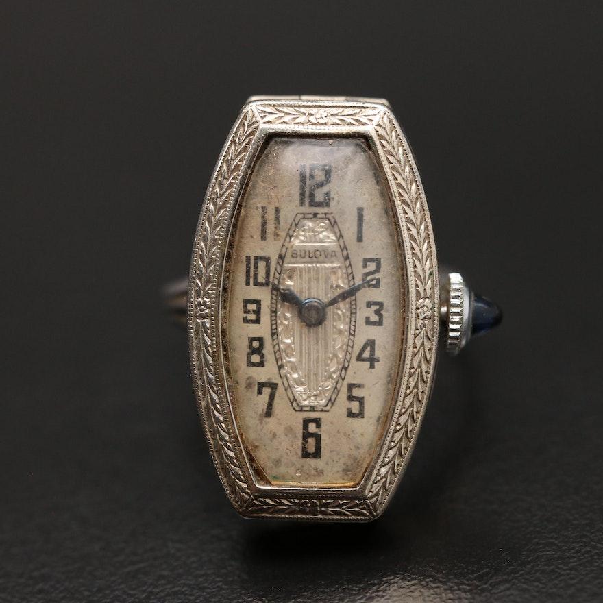 Unique Bulova Ring Watch