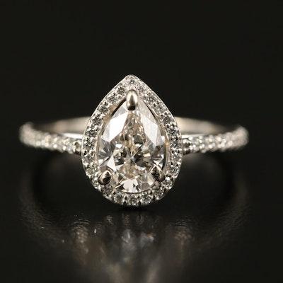 14K 1.36 CTW Diamond Ring