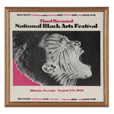 Poster for National Black Arts Festival, 1993