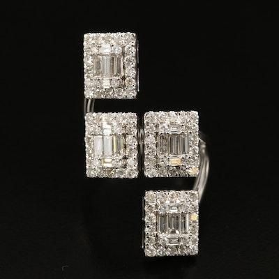 14K Split Shank 2.48 CTW Diamond Ring