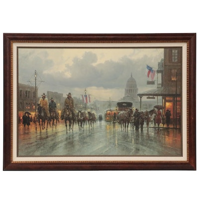 """Giclée After G. Harvey """"Reflections of Yesterday"""""""
